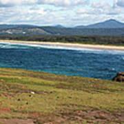 Panorama of Look at Me Headland, Australia Poster