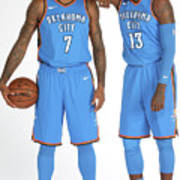 Paul George and Carmelo Anthony Poster