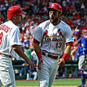 Peter Bourjos and Matt Carpenter Poster