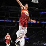 Philadelphia 76ers v Denver Nuggets Poster