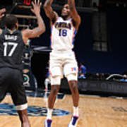Philadelphia 76ers v Minnesota Timberwolves Poster