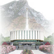 Provo Temple - Celestial Series Poster