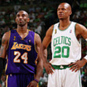 Ray Allen and Kobe Bryant Poster