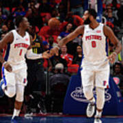 Reggie Jackson and Andre Drummond Poster