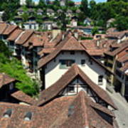 Rooftops of Medieval Bern, Switzerland Poster