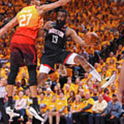 Rudy Gobert and James Harden Poster