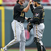 Russell Martin and Jason Grilli Poster