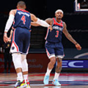 Russell Westbrook and Bradley Beal Poster