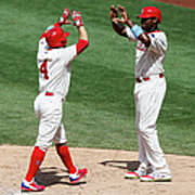 Ryan Howard and Andres Blanco Poster