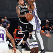 Sacramento Kings v Brooklyn Nets Poster