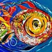 San Antonio Fish Poster