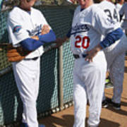 Sandy Koufax and Don Sutton Poster