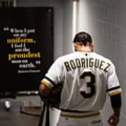 Sean Rodriguez and Roberto Clemente Poster