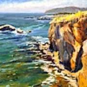 Seaside Cliffs, Pismo Beach Poster
