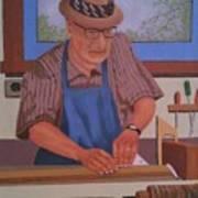 Seasoned Craftsman Poster