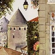 Semur en Auxois Poster