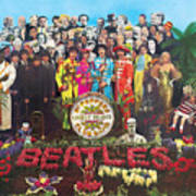 Sgt. Pepper's Lonely Hearts Club Band by The Beatles Poster