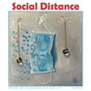 Social Distance poster #2 Poster