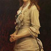 Sophia Ivanovna Kramskoy, Daughter of the Artist Poster