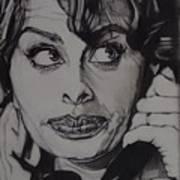 Sophia Loren Telephones Poster
