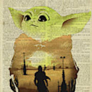 Star Wars Yoda Baby Dictionary       Poster
