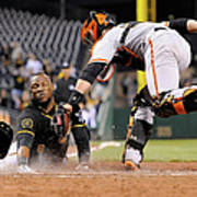 Starling Marte and Buster Posey Poster