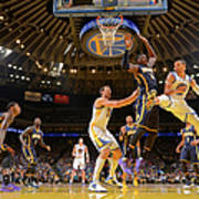 Stephen Curry and Roy Hibbert Poster