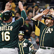 Stephen Vogt and Billy Butler Poster