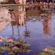 Sunday Reflections - Balboa Park Poster