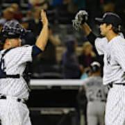Tampa Bay Rays V New York Yankees Poster