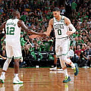 Terry Rozier and Jayson Tatum Poster