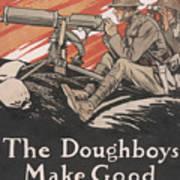 The Doughboys make Good, 1918 Poster