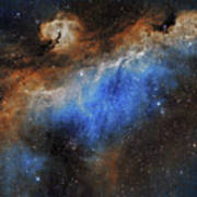 The Seagull Nebula Poster