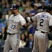 Todd Helton and Troy Tulowitzki Poster