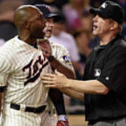 Torii Hunter and Paul Molitor Poster