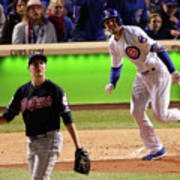 Trevor Bauer and Kris Bryant Poster