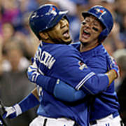 Troy Tulowitzki and Edwin Encarnacion Poster