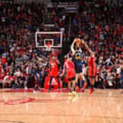 Utah Jazz v Houston Rockets Poster
