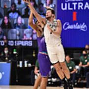 Utah Jazz v San Antonio Spurs Poster