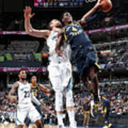 Victor Oladipo and Marc Gasol Poster
