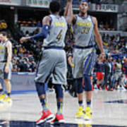 Victor Oladipo and Myles Turner Poster