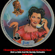 Vogue Record Art - R 740 - P 85 Poster