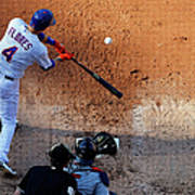 Wilmer Flores Poster