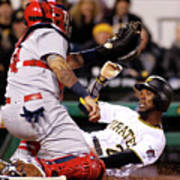 Yadier Molina and Andrew Mccutchen Poster