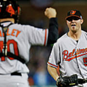 Zach Britton and Nick Hundley Poster
