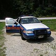 Georgia State Patrol Art Print