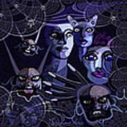 060 -  Paranoia Blues ... Art Print