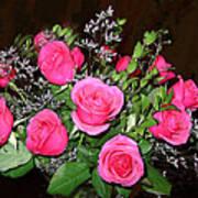 1 Dozen Roses Art Print