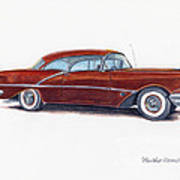 1956 Oldsmobile Super 88 Art Print