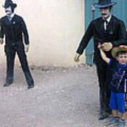 3 Godfathers Homage 1948 Ok Corral Tombstone Arizona  Art Print